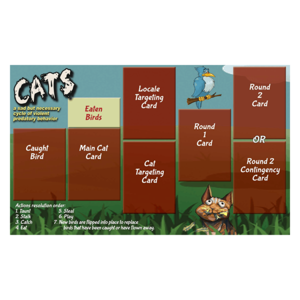 Cats Play Mat