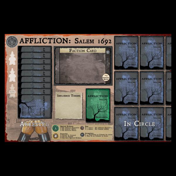 Affliction Salem Play mat