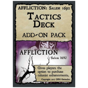 Affliction Salem Tactics Deck
