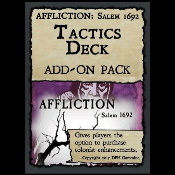 Affliction Salem Tactics Deck