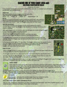 Geocaching Cooperative Rules